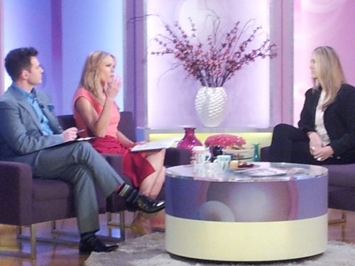 Sydney - My appearance on 'Mornings' on channel 9
