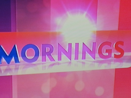 Sydney - 'Mornings' TV program on channel 9