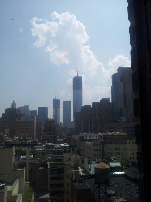 NYC - The view from the studio