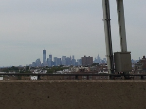 NYC - A view of the city from the Verrazano Bridge