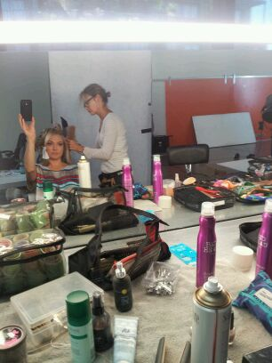 Sydney - Studio day with a hair & make-up change
