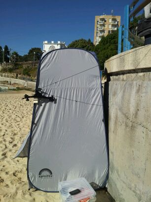 Sydney - My change room on Coogee Beach