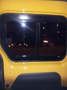 NYC - Large Nissan NV200 taxi door