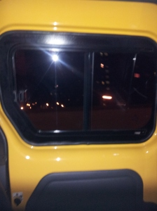 NYC - Large Nissan NV200 taxi door