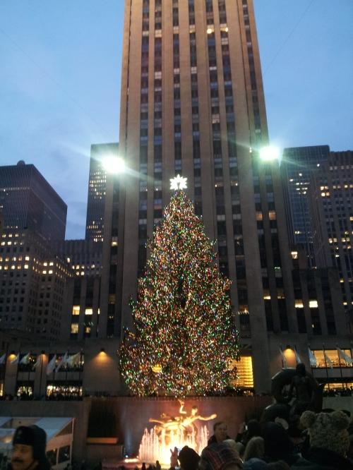 NYC - Rockefeller Center Christmas Tree