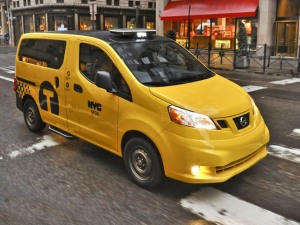Nissan NV200 - 'Taxi Of Tomorrow'