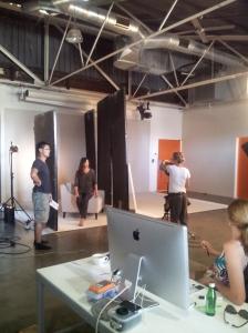 Sydney - In studio