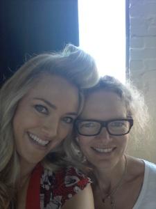 Sydney - Annette McKenzie & I (my amazing hair & make-up artist)