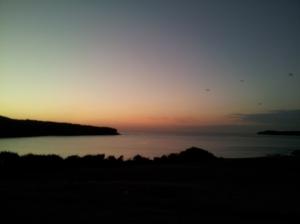 Sydney - Sunrise at 5.30am