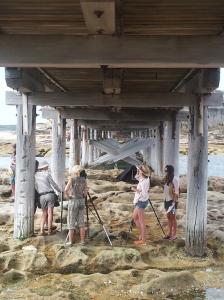 Sydney - Sara crew working hard