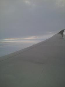 Midflight from Sydney to Los Angeles