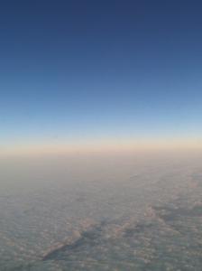 Mid-flight - Taking off from Little Rock, AK