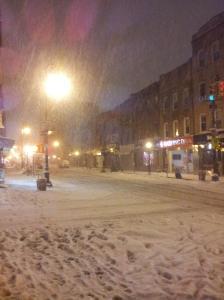 Brooklyn, NY - 1am and the Blizzard Nemo is still in full swing