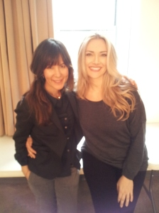 NYC - Kelley and I at the end of our shoot