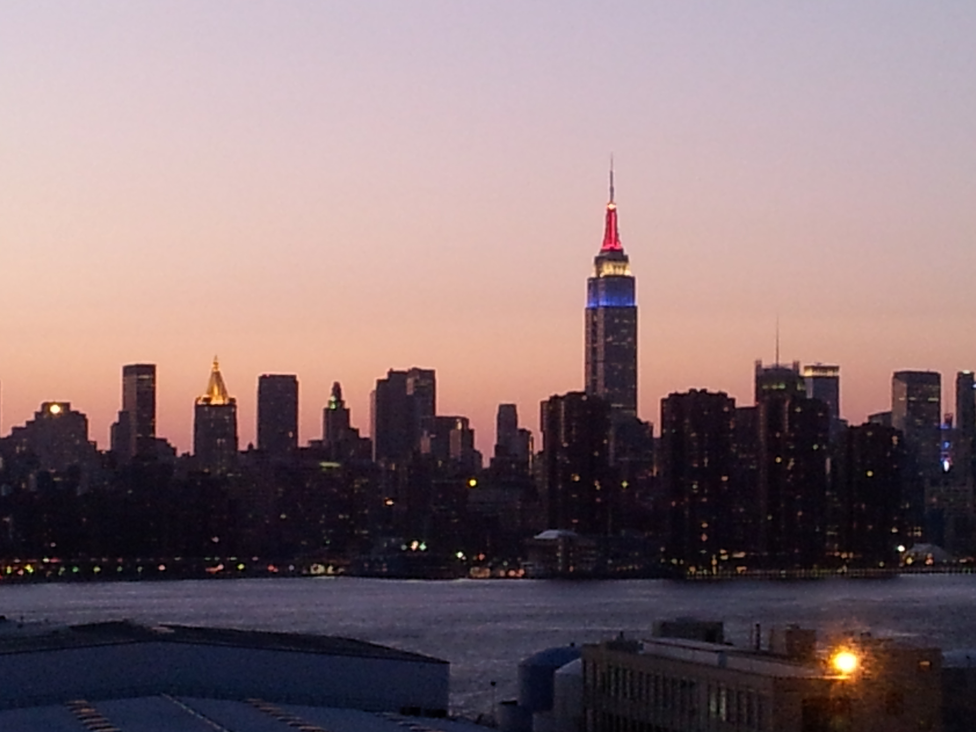 Exterior: The Empire State Building, Spring & The Wythe Hotel