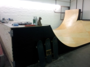 Kansas City - Skate ramp in the studio