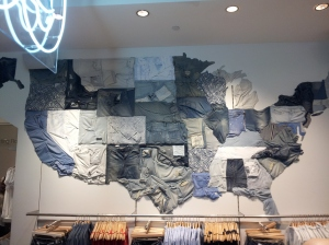 Gap store in Union Square San Fran - Denim America
