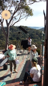 Sydney - The crew setting up for another shot in Bilgola