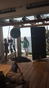 Sydney - location house in Coogee shooting Sara by Ezibuy