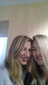 Sydney - Dijana Mulhearn (Fashion writer and author of Wardrobe 101) and I