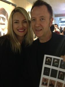 Sydney - Geoffrey Boccalatte and I admiring the show