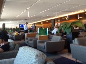 Sydney - Air New Zealand club lounge
