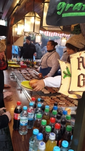 Nuremberg - There were sausages, sauerkraut and Gluehwein everywhere (German Hot Wine Punch)