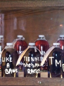 NYC - Personalised Cocktail bottles