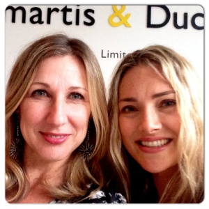 Dijana Mulhearn & I share a selfie at the opening