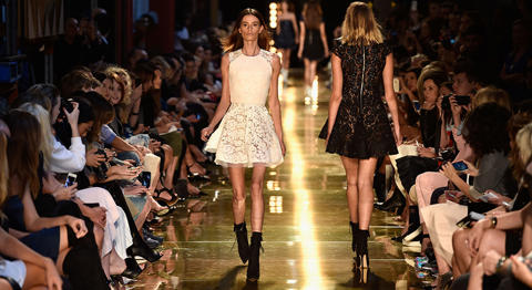 Sydney - Models walk the runway at the Alex Perry show. Photo: Getty Images.