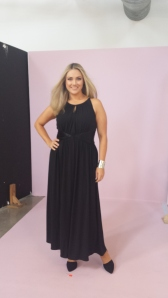 In studio - it's time for evening wear