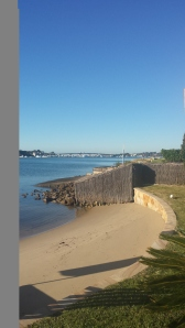 On location with our own private beach in Sydney