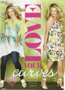 Love your curves - New Idea magazine